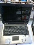 laptop Asus F3Tc Pent DualC 2x1,8GHz 120GB 1DDR2 dvdrw vista 15,4 wifi Bt