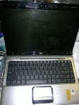 "laptop HP DV2000 Dv2736us AMD Turion64X2 2.1GHz 1GBram 14,1"" vista dvdrw cam"